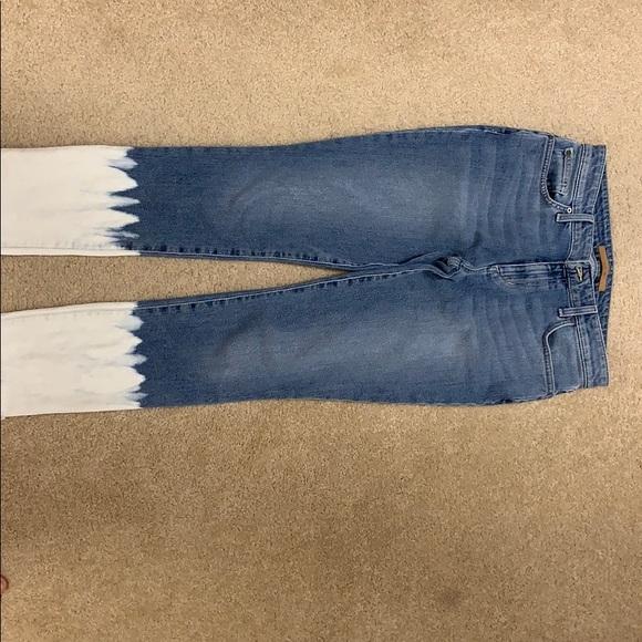 25 Joes Jeans Womens Elaina High-Rise Skinny Ankle Cut Blue
